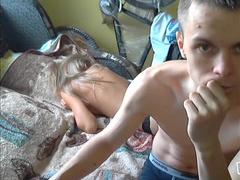 Частный Секс паренька с грудастой подружкой