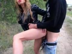 Русская девченка любит жестко в жопу